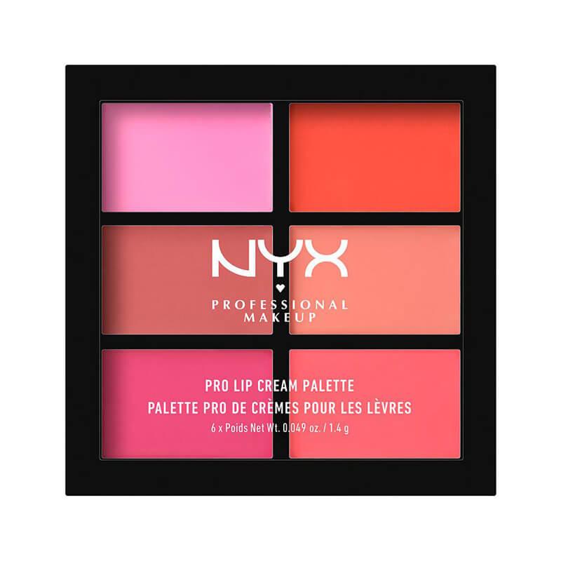 NYX Professional Makeup Pro Lip Cream Palette i gruppen Makeup / Lepper / Leppestift hos Bangerhead.no (B019008r)