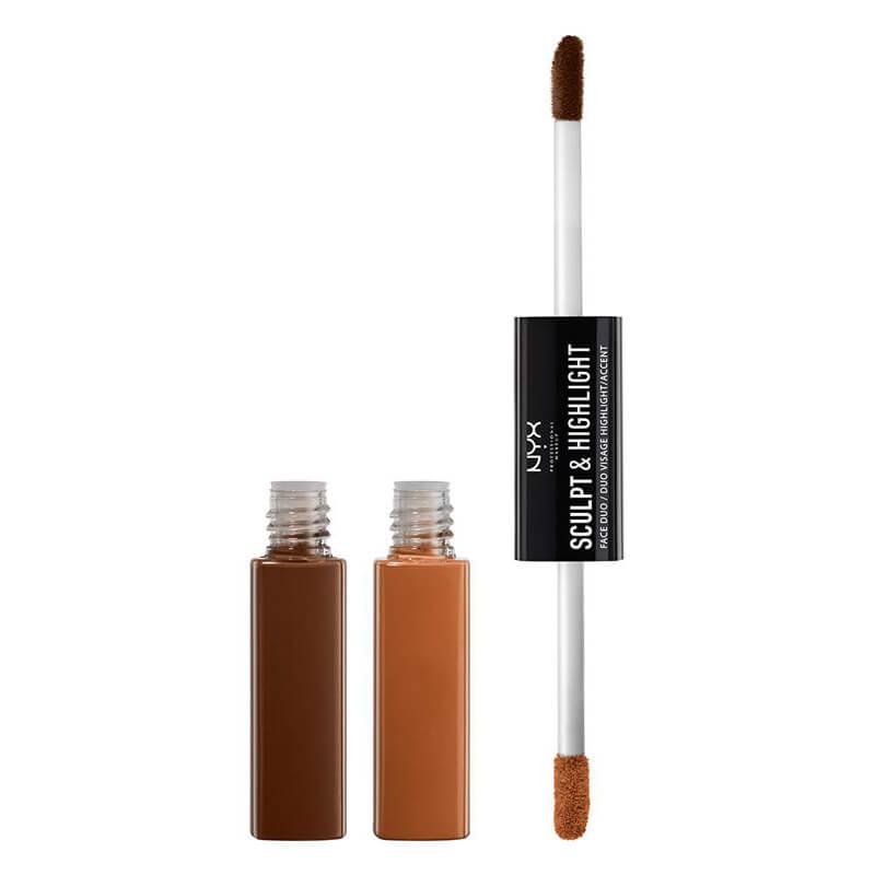 NYX Professional Makeup Sculpt & Highlight Face Duo i gruppen Smink / Kinder / Highlighter hos Bangerhead (B019066r)