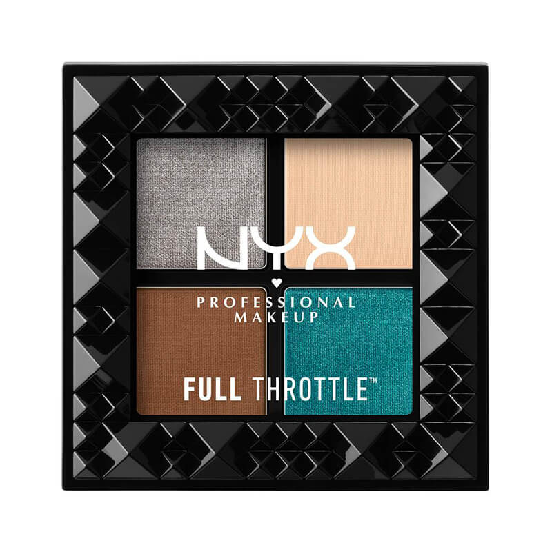 NYX Professional Makeup Full Throttle Eye Shadow Palette i gruppen Makeup / Ögon / Ögonskuggspalett hos Bangerhead (B019243r)