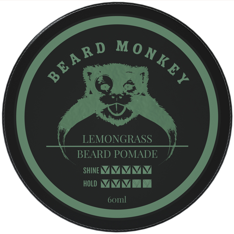 Beard Monkey - Beard Pomade - Lemongrass Rain