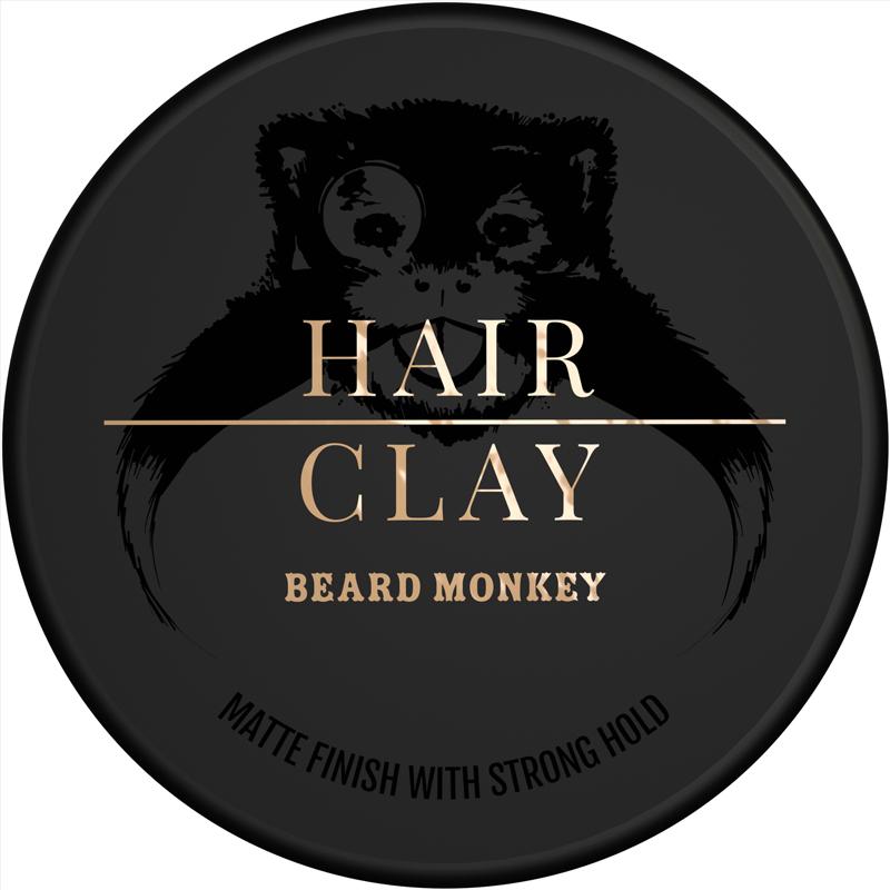 Beard Monkey Hairvax Clay Pomade