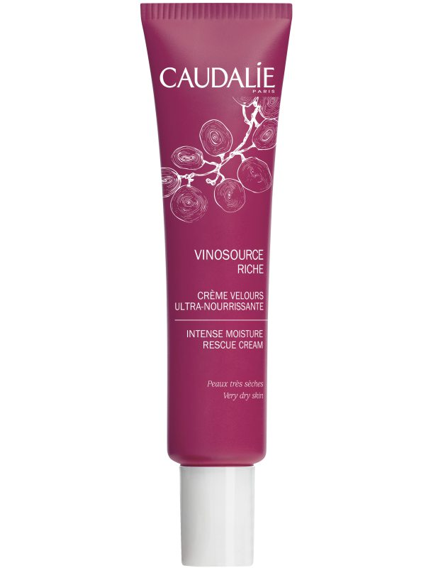 Caudalie Vinosource Intense Moisture Rescue Cream - Very Dry Skin