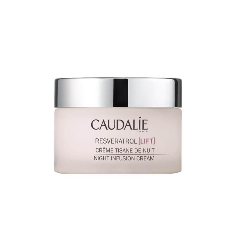 Caudalie Resvératrol Night Infusion Cream - 50 Ml i gruppen Hudvård / Ansiktsåterfuktning / Nattkräm hos Bangerhead (B019651)