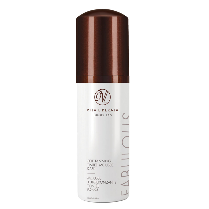 Vita Liberata Fabulous Self Tanning Tinted Mousse - Dark
