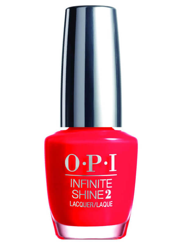 OPI Infinite Shine - Unrepentantly Red