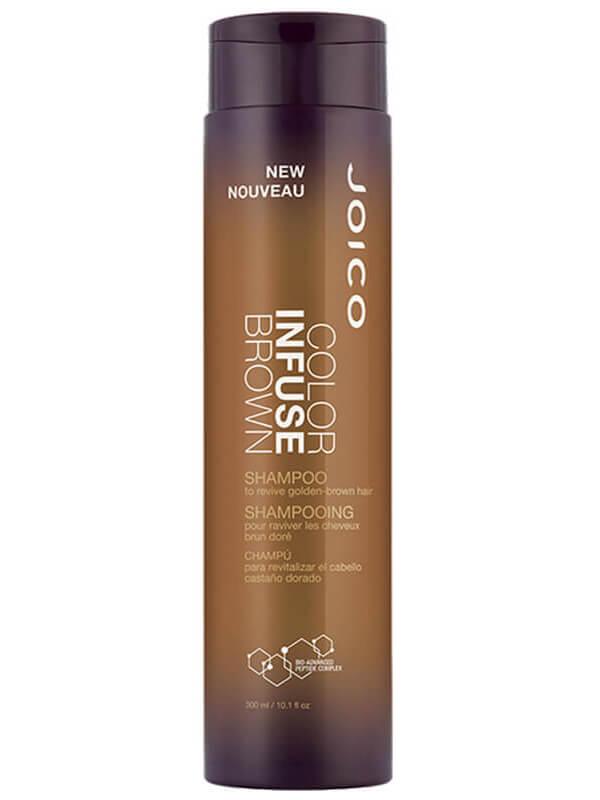 Joico Color Infuse Brown Shampoo (300ml) i gruppen Hårpleie / Shampoo & balsam / Shampoo hos Bangerhead.no (B020831)