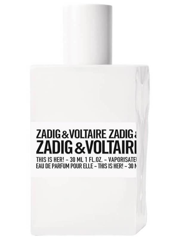 Zadig & Voltaire This Is Her! EdP i gruppen Parfyme / Kvinner / Eau de Parfum  hos Bangerhead.no (B021043r)
