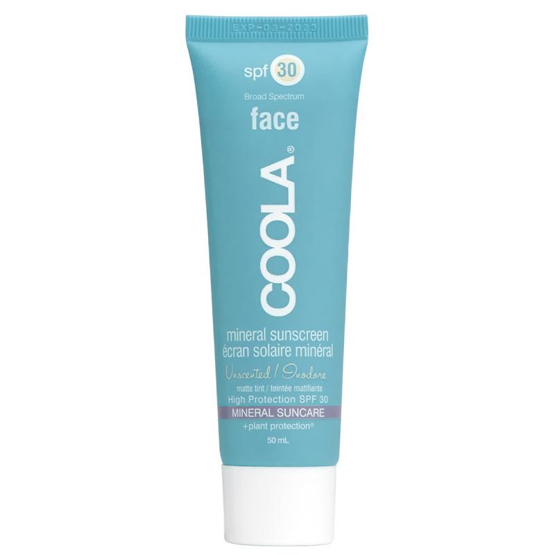 Coola Mineralface SPF 30 Matte Tint Unsc. (50ml) i gruppen Hudvård / Sol & tan för ansikte / Solskydd & hudkräm med SPF hos Bangerhead (B021449)