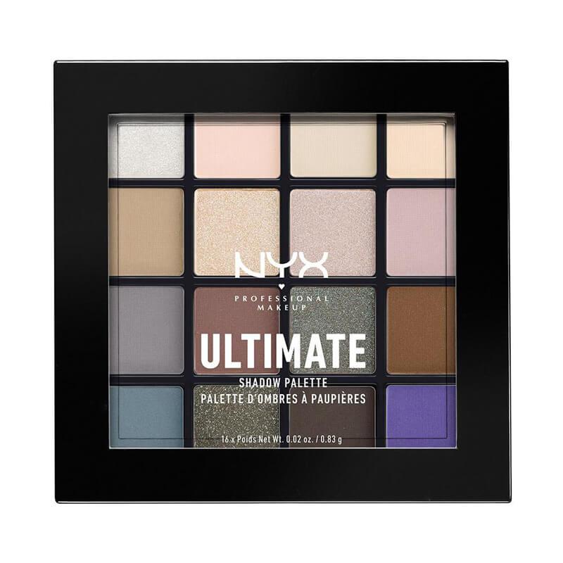 NYX Professional Makeup Ultimate Shadow Palette i gruppen Makeup / Øyne / Øyenskygge hos Bangerhead.no (B021492r)