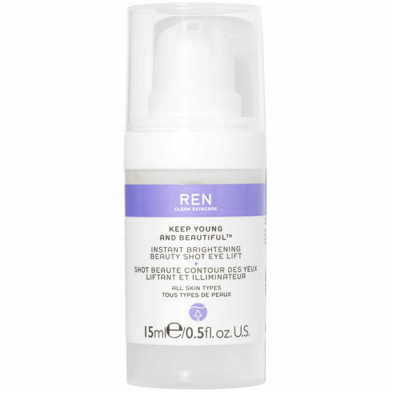 REN Keep Young & Beautiful Instant Brightening Beauty Shot Eye Lift (15ml)