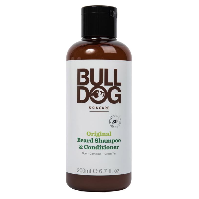 Bulldog Original Beard Shampoo And Conditioner (200ml)