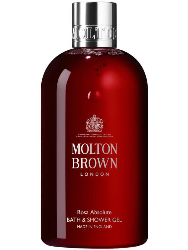 Molton Brown Rosa Absolute Bath & Shower Gel (300ml) i gruppen Kroppsvård / Kroppsrengöring & scrub / Duschtvål hos Bangerhead (B022171)