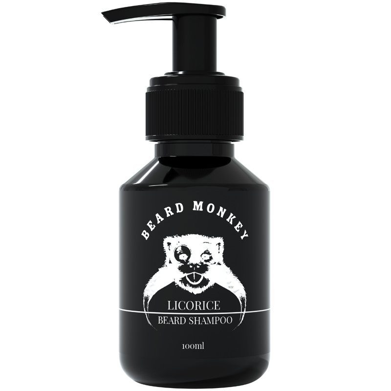 Beard Monkey Beard Shampoo Licorice (100ml)