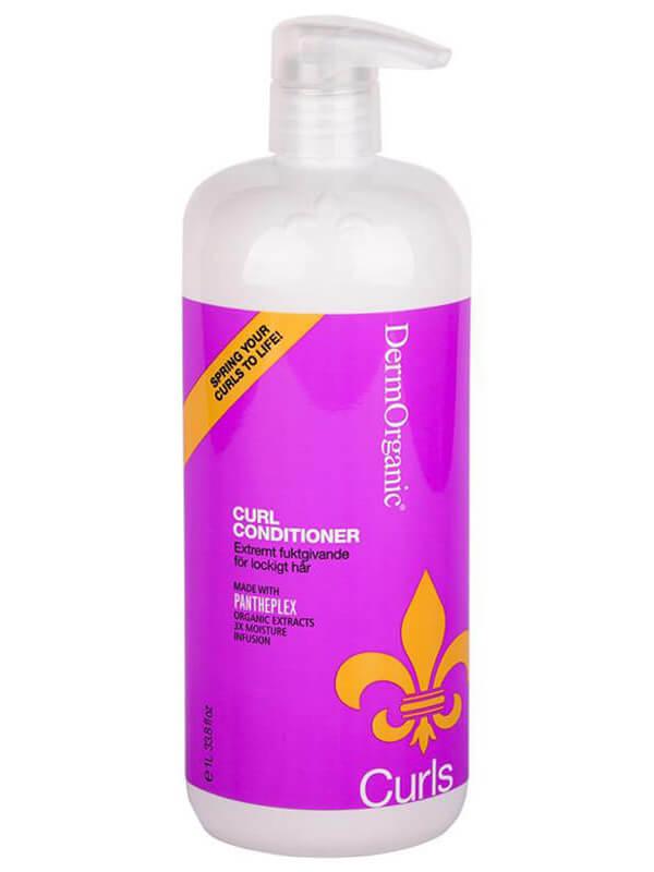 Dermorganic Organic Curl Conditioner ryhmässä Hiustenhoito / Shampoot & hoitoaineet / Hoitoaineet at Bangerhead.fi (B022307r)