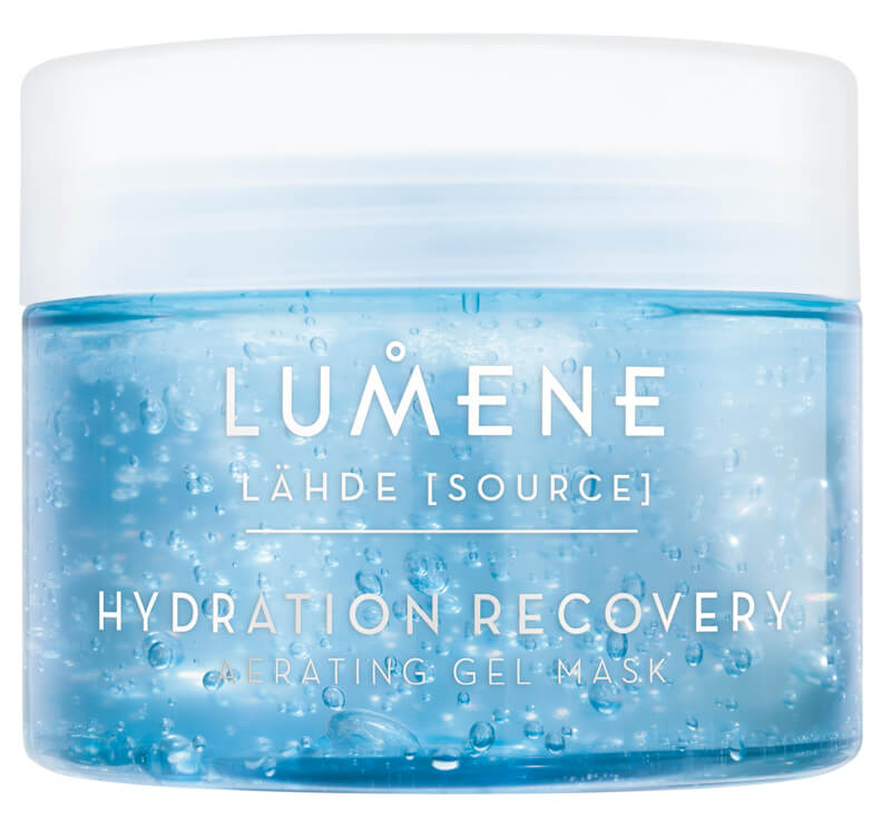 Lumene Lähde Hydration Recovery Oxygenating Gel Mask (150ml)