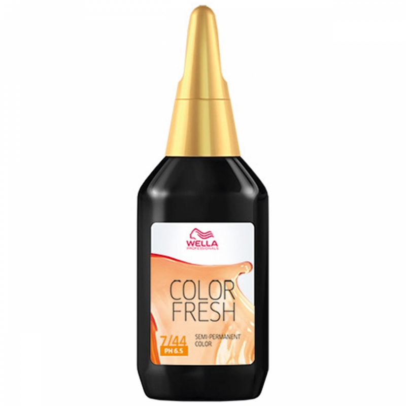 Wella Color Fresh 7/44 Medium Intense Red Blonde