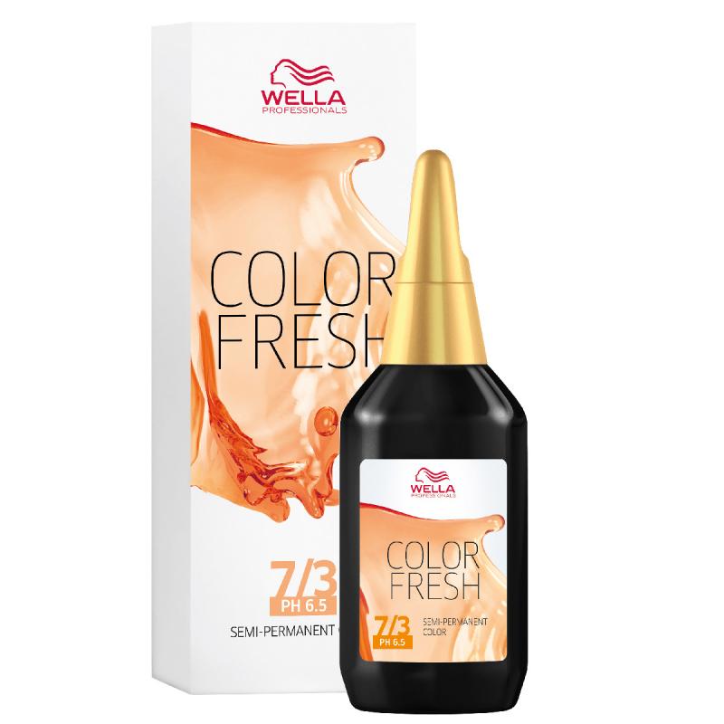 Wella Color Fresh 7/3 Medium Golden Blonde