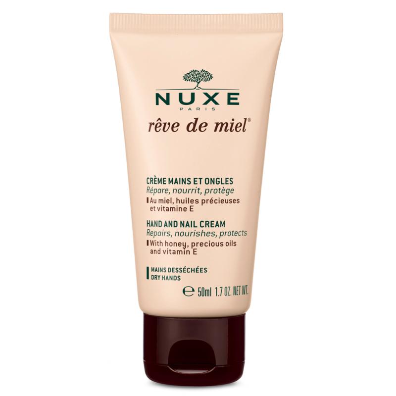 NUXE Hand And Nail Cream (50ml) ryhmässä Vartalonhoito  / Kädet & jalat / Käsivoiteet at Bangerhead.fi (B023012)