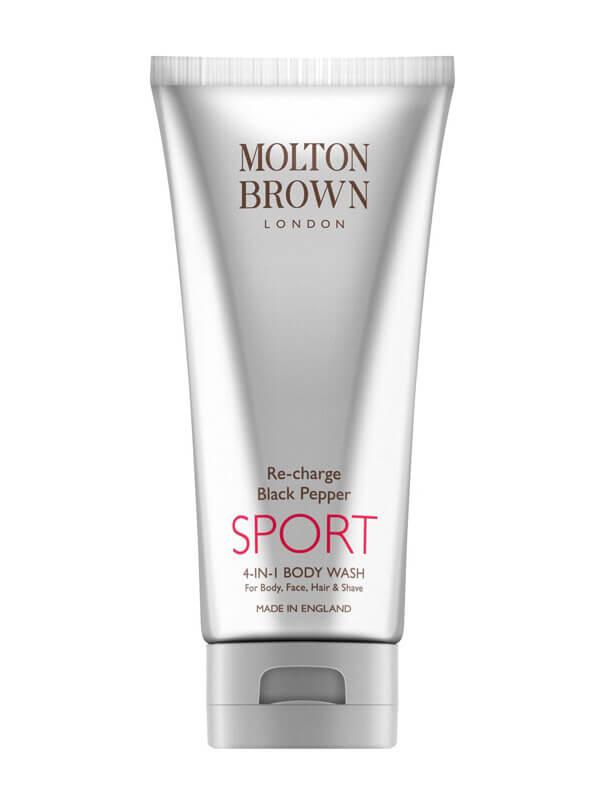 Molton Brown Re-Charge Black Pepper Sport 4 In 1 Body Wash ryhmässä Vartalonhoito & spa / Vartalon puhdistus / Kylpysaippuat & suihkusaippuat at Bangerhead.fi (B023302)