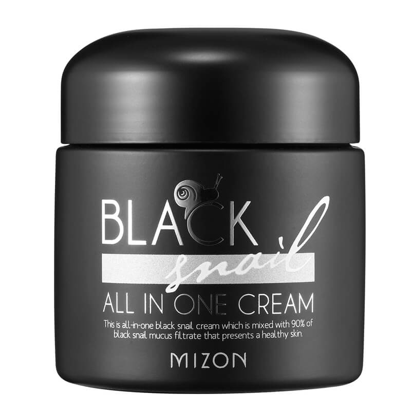 Mizon Black Snail All In One Cream i gruppen K-Beauty / Hudpleiesteg 1-10 / Steg 9 - Ansiktskrem hos Bangerhead.no (B023483)