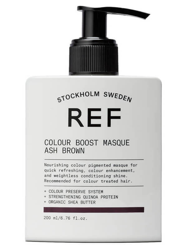 REF Colour Boost Masque Ash Brown (200ml)