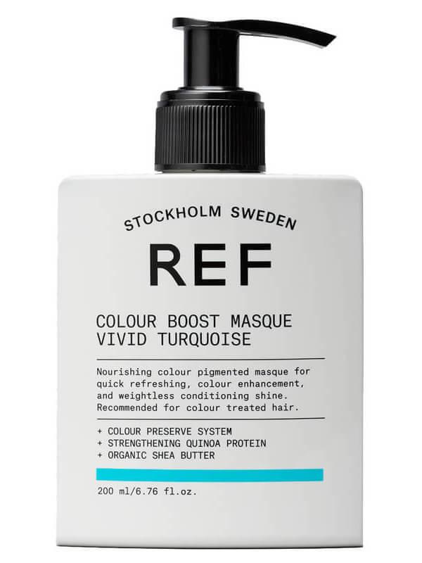 REF Colour Boost Masque Vivid Turquoise (200ml)
