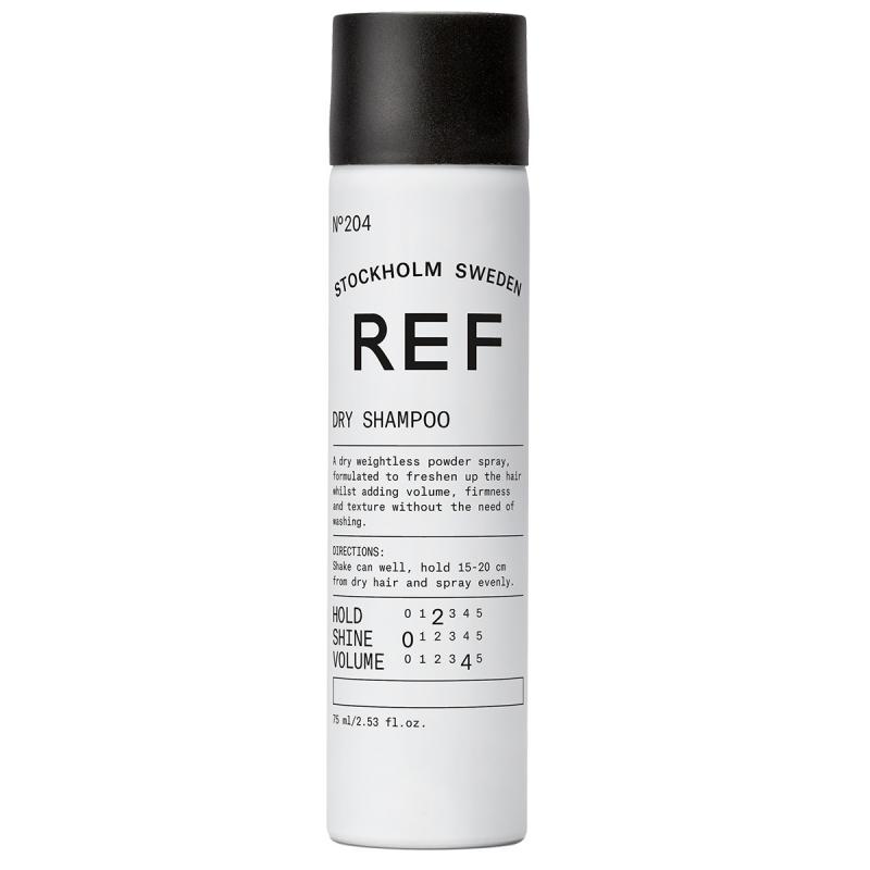 REF Dry Shampoo 204  ryhmässä Hiustenhoito / Shampoot & hoitoaineet / Kuivashampoot at Bangerhead.fi (B023627r)