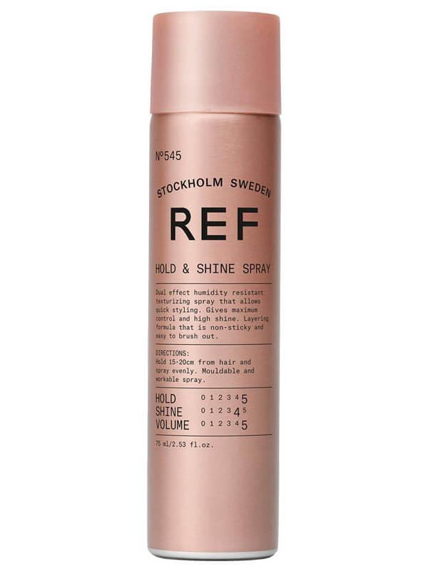 REF Hold And Shine Spray 545 i gruppen Hårvård / Styling / Hårspray hos Bangerhead (B023631r)