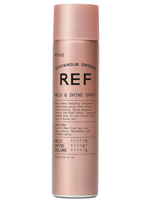 REF Hold And Shine Spray 545 i gruppen Hårvård / Styling / Hårspray hos Bangerhead (B023631r)