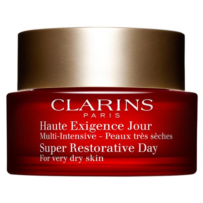 Clarins Super Restorative Day - For Very Dry Skin (50ml) ryhmässä Ihonhoito / Kasvojen kosteutus / Päivävoiteet at Bangerhead.fi (B023710)