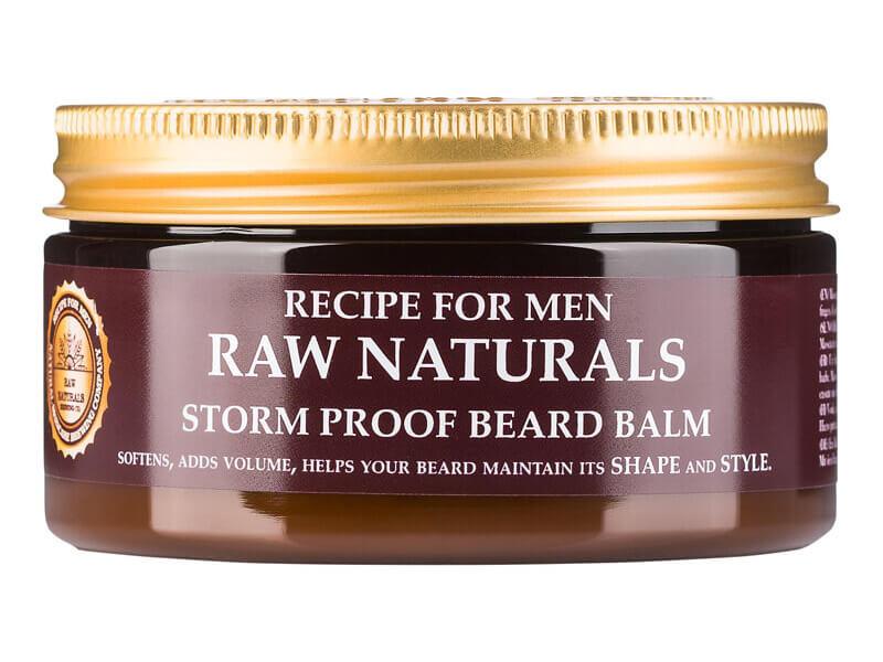 Raw Naturals Storm Proof Beard Balm (100ml) ryhmässä Miehet / Hiustenhoito miehille / Muotoilutuotteet miehille at Bangerhead.fi (B023731)