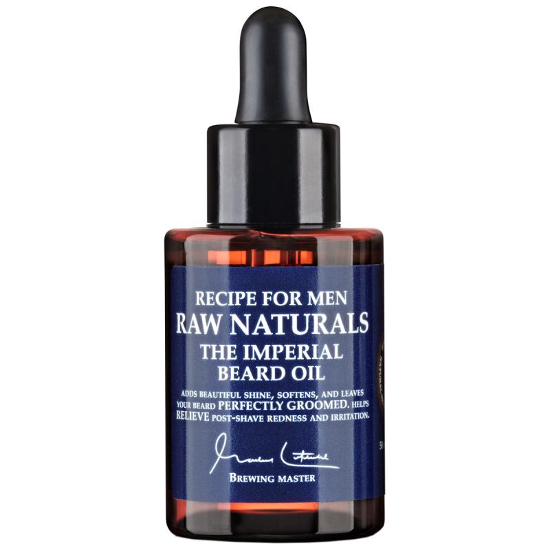 Raw Naturals Imperial Beard Oil (50ml) ryhmässä Miehet / Parranajo & grooming miehille / Partaöljyt & vahat miehille at Bangerhead.fi (B023732)