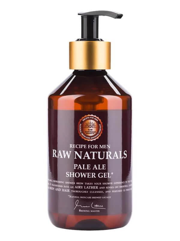 Raw Naturals Pale Ale Shower Gel (300ml) ryhmässä Miehet / Ihonhoito miehille / Puhdistustuotteet miehille at Bangerhead.fi (B023739)