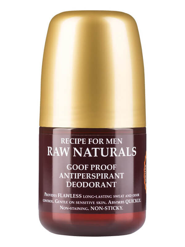 Raw Naturals Goof Proof Antiperspirant Deodorant (60ml) ryhmässä Tuoksut / Miesten tuoksut / Deodorantit miehille at Bangerhead.fi (B023740)