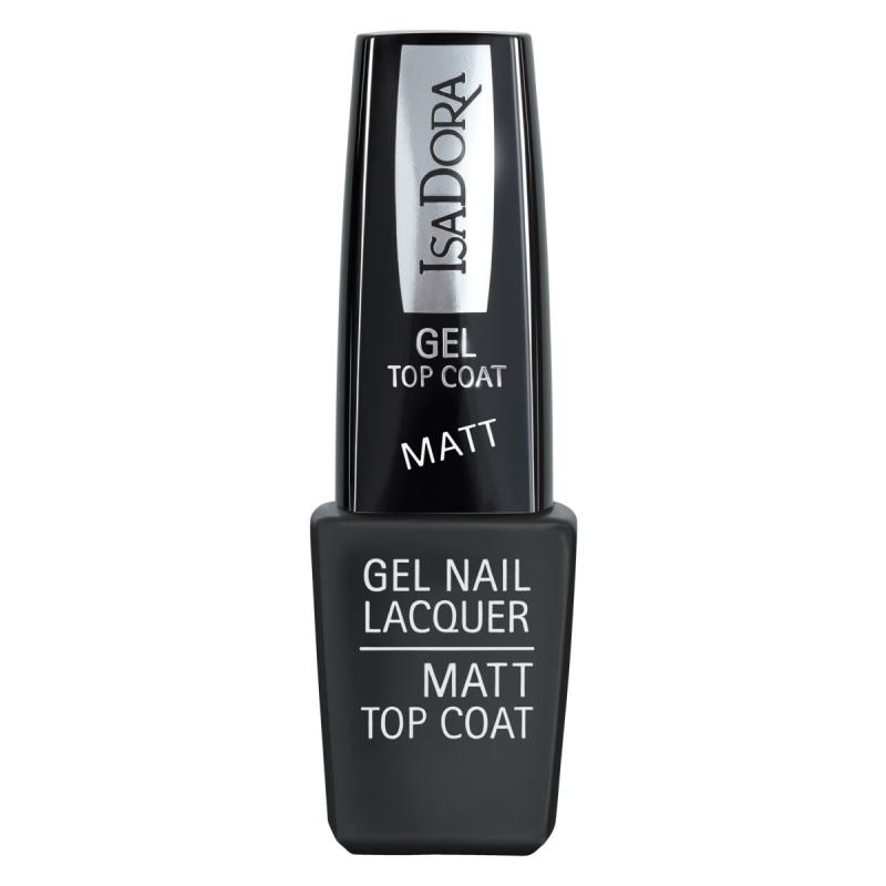Isadora Gel Nail Lacquer Matt Top Coat