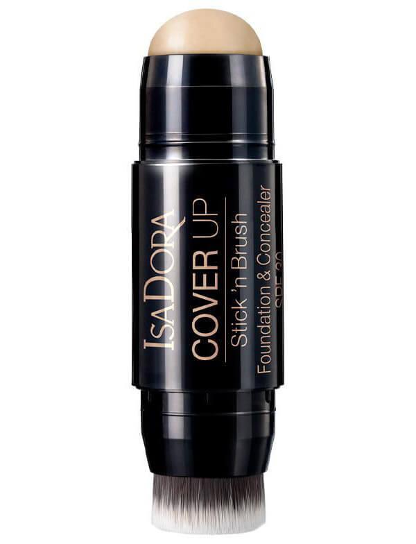 Isadora Cover Up Stick 'N Brush Foundation & Concealer SPF 30 i gruppen Makeup / Bas / Foundation hos Bangerhead (B023800r)