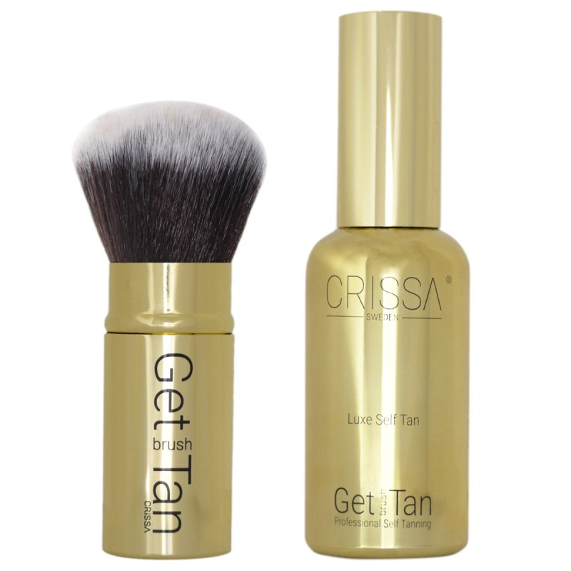 Crissa Get Brush Tan i gruppen Hudpleie / Sol & tan for ansikt / Selvbruning for ansikt hos Bangerhead.no (B023850)