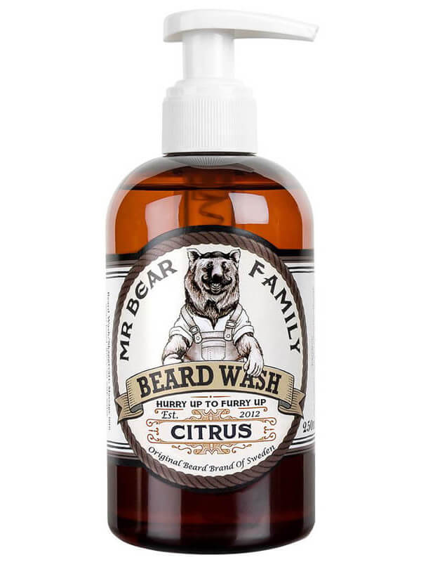 Mr Bear Family Beard Wash Citrus