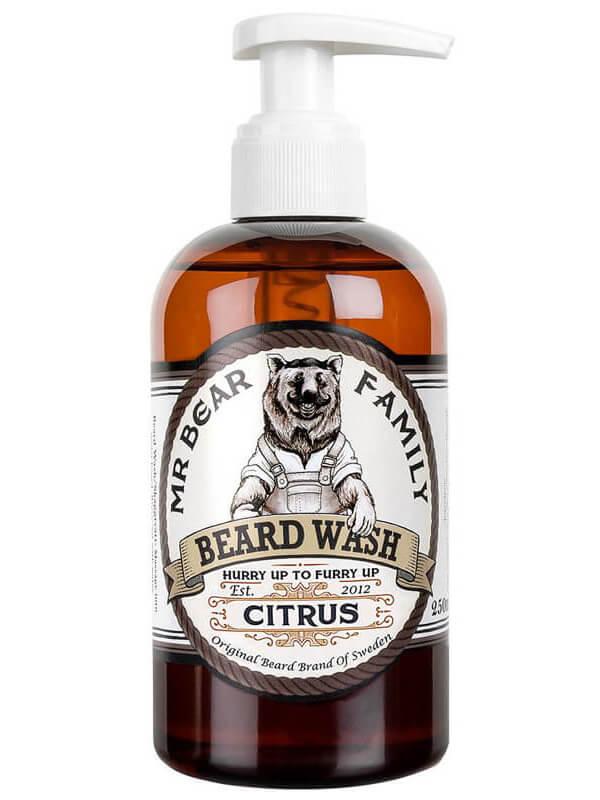 Mr Bear Family Beard Wash Citrus