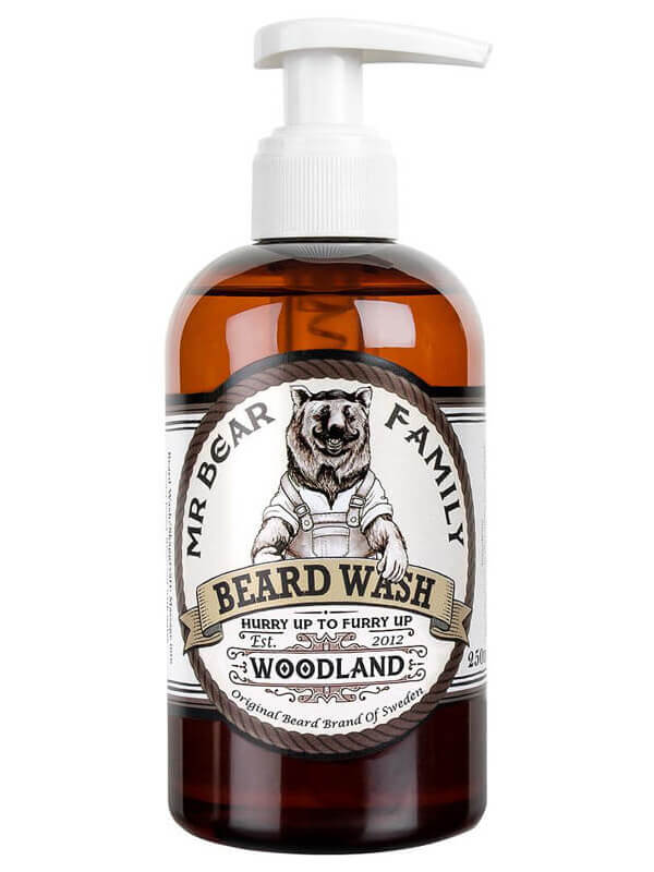 Mr Bear Family Beard Wash Woodland