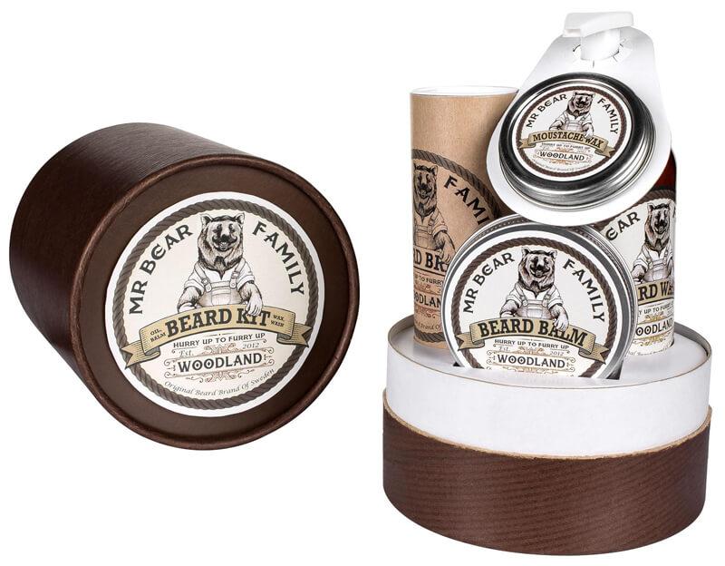 Mr Bear Family Beard Kit Woodland