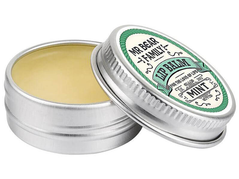 Mr Bear Family Lipbalm Mint