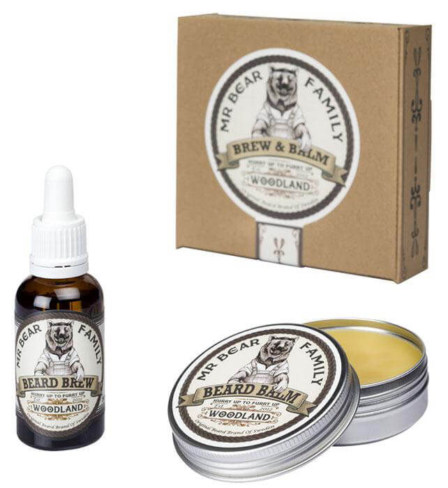 Mr Bear Family Brew & Balm Woodland