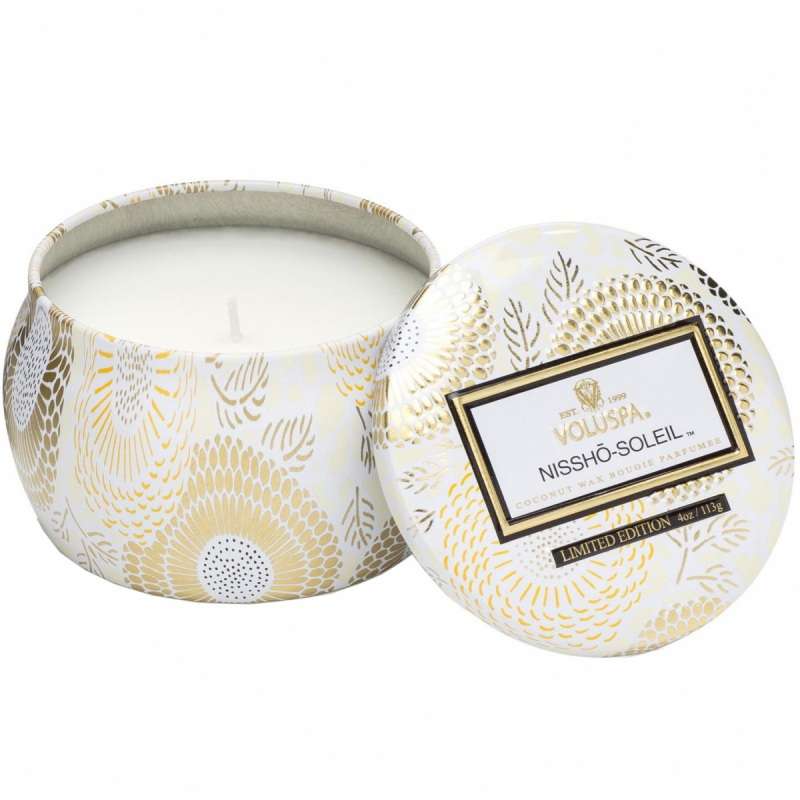 Voluspa Decorative Tin Candle 25 Tim Nissho Soleil (113g)