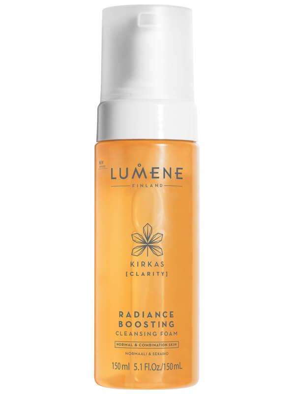 Lumene Kirkas Radiance-Boosting Mousse Cleanser (150ml) i gruppen Hudvård / Ansiktsrengöring / Rengöringsskum hos Bangerhead (B024134)