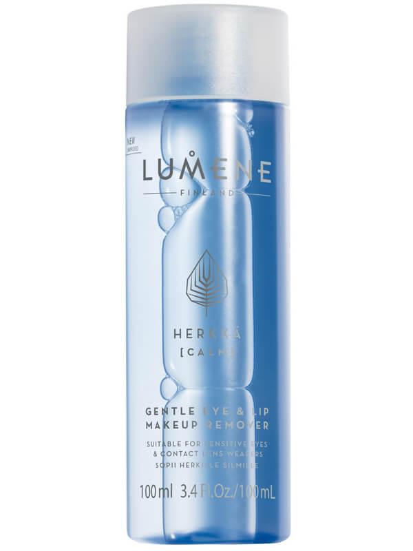 Lumene Herkkä Gentle Eye & Lip Makeup Remover (100ml) i gruppen Hudvård / Ansiktsrengöring / Sminkborttagning hos Bangerhead (B024139)