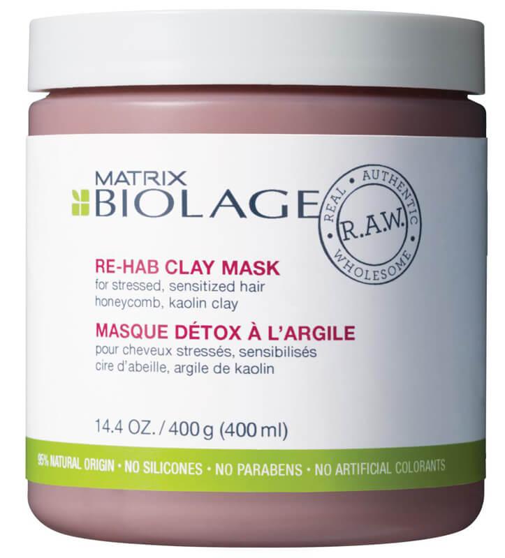 Biolage R.A.W. Recover Re-Hab Clay Mask (400ml) i gruppen Hårvård / Inpackning & treatments / Treatments hos Bangerhead (B024359)