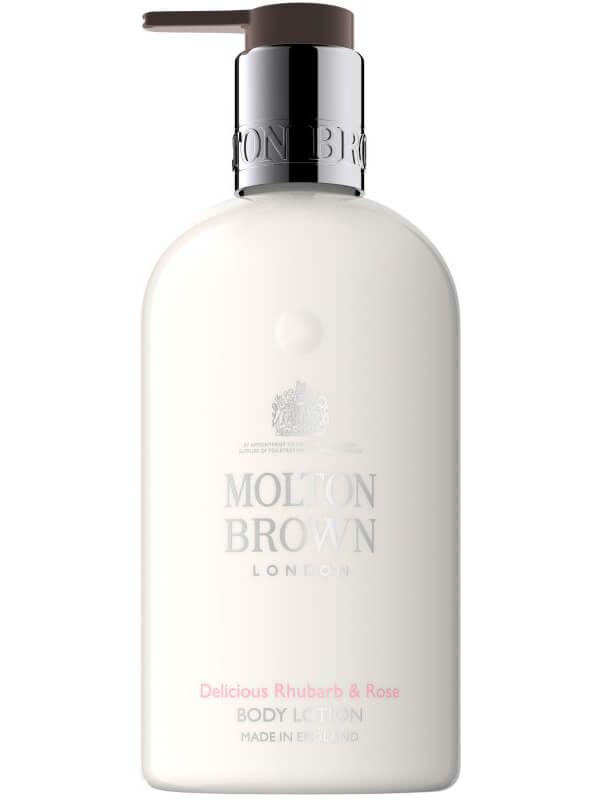 Molton Brown Rhubarb & Rose Body Lotion (300ml) ryhmässä Vartalonhoito & spa / Vartalon kosteutus / Vartalovoiteet at Bangerhead.fi (B024629)