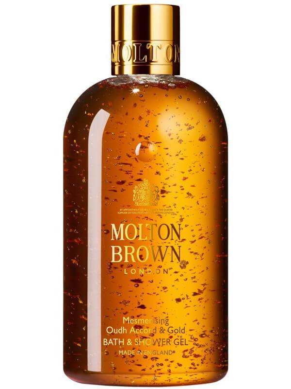 Molton Brown Oudh Accord & Gold Body Wash (300ml) i gruppen Kroppsvård / Kroppsrengöring & scrub / Duschtvål hos Bangerhead (B024631)