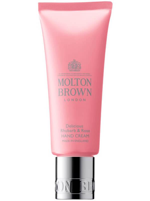 Molton Brown Rhubarb & Rose Hand Cream (40ml) ryhmässä Vartalonhoito & spa / Kädet & jalat / Käsivoiteet at Bangerhead.fi (B024634)